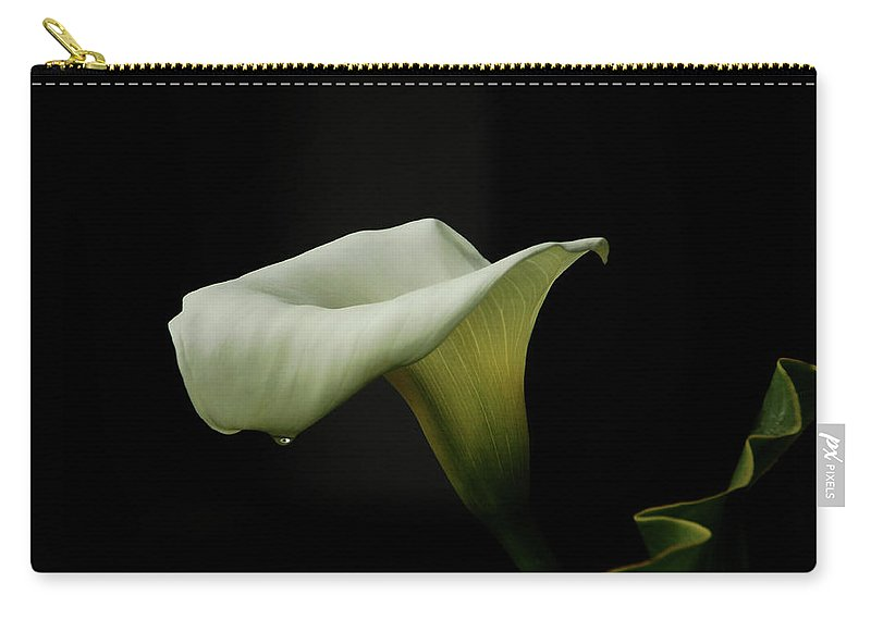 Calla Lily Carry-all Pouch featuring the photograph Something About Lily by Donna Blackhall