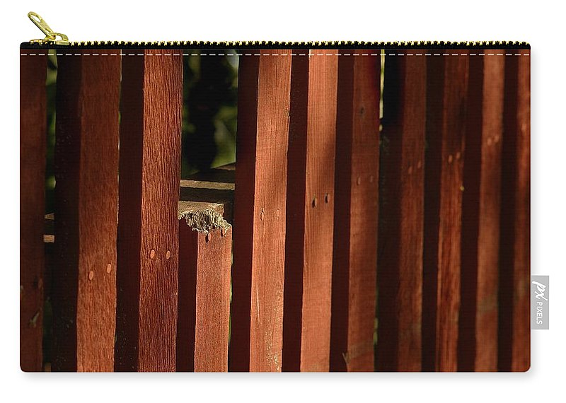 California Scenes Carry-all Pouch featuring the photograph Somethin's Missing by Norman Andrus