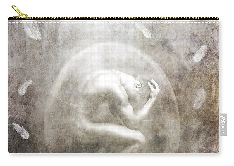 Surreal Carry-all Pouch featuring the photograph Sometimes by Jacky Gerritsen