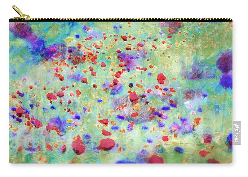 Flowers Carry-all Pouch featuring the photograph Somewhere In Governy by Hal Halli