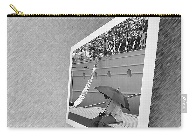 2d Carry-all Pouch featuring the photograph Somewhere It Is Raining by Brian Wallace