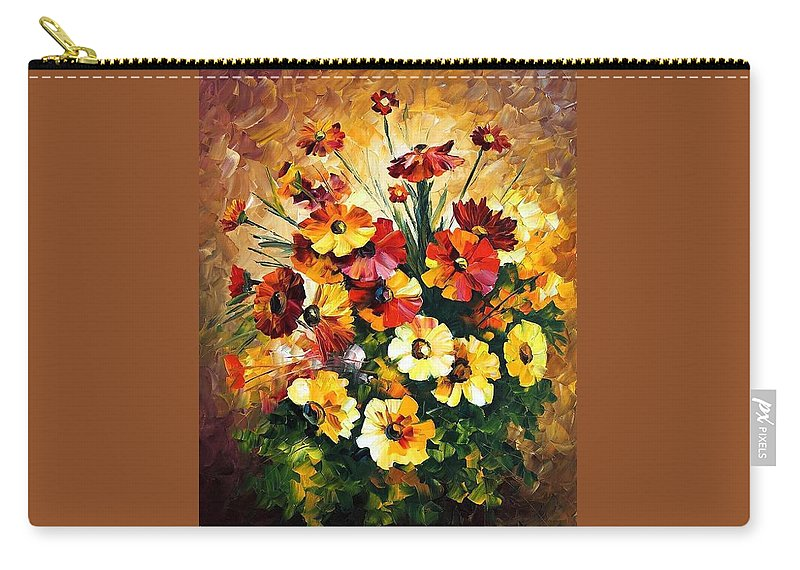 Afremov Carry-all Pouch featuring the painting Songs Of My Heart by Leonid Afremov