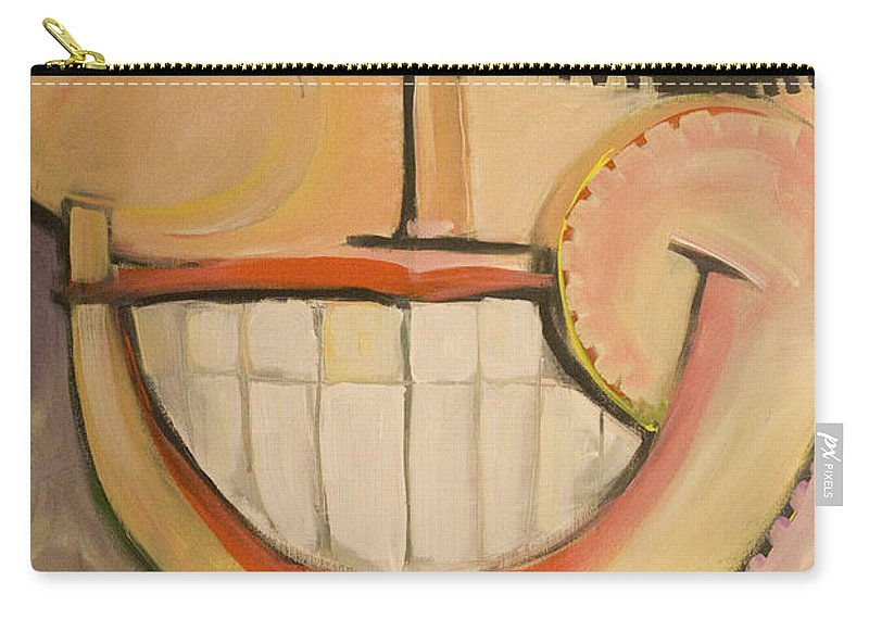 Sunny Carry-all Pouch featuring the painting Sonny Sunny by Tim Nyberg