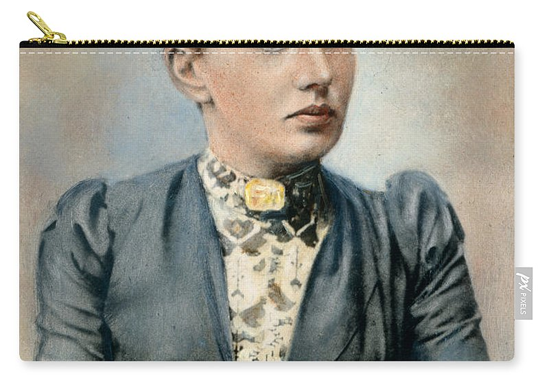 19th Century Carry-all Pouch featuring the photograph Sonya Kovalevsky (1850-1891) by Granger