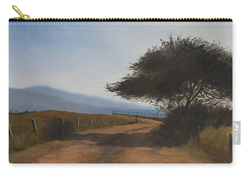 Save Our Soul Carry-all Pouch featuring the painting SOS by Mandar Marathe