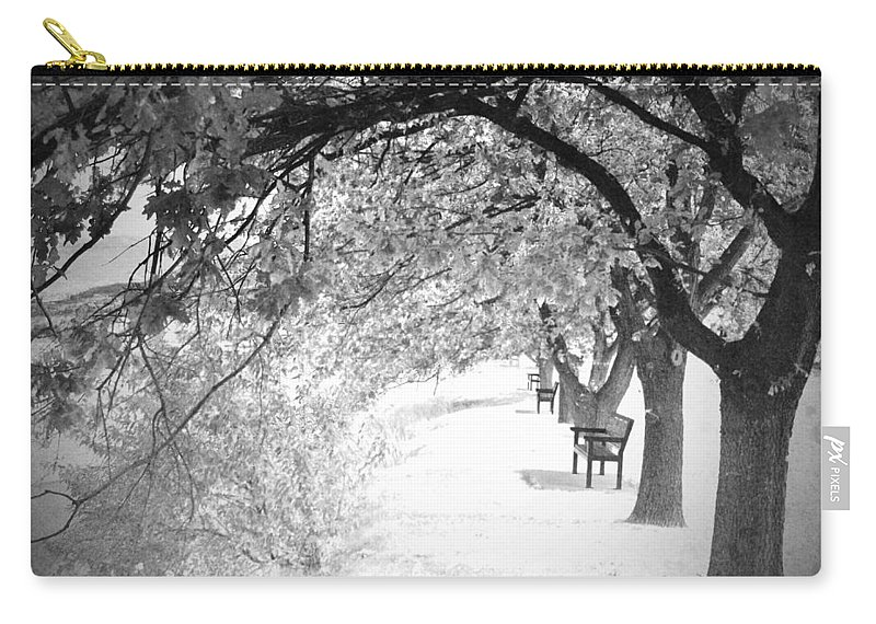 Benches Carry-all Pouch featuring the photograph Soul Crossing by Tara Turner