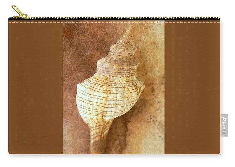 Still Life Carry-all Pouch featuring the photograph Sounds Of The Sea by Holly Kempe