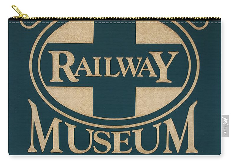 South Florida Railway Museum Carry-all Pouch featuring the photograph South Florida Railway Museum by Rob Hans