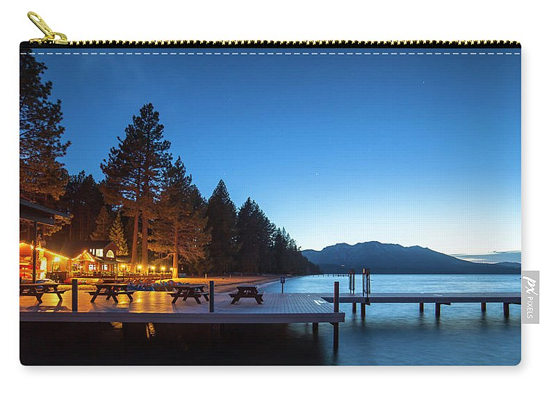 Lake Carry-all Pouch featuring the photograph South Shore by Mark Loper