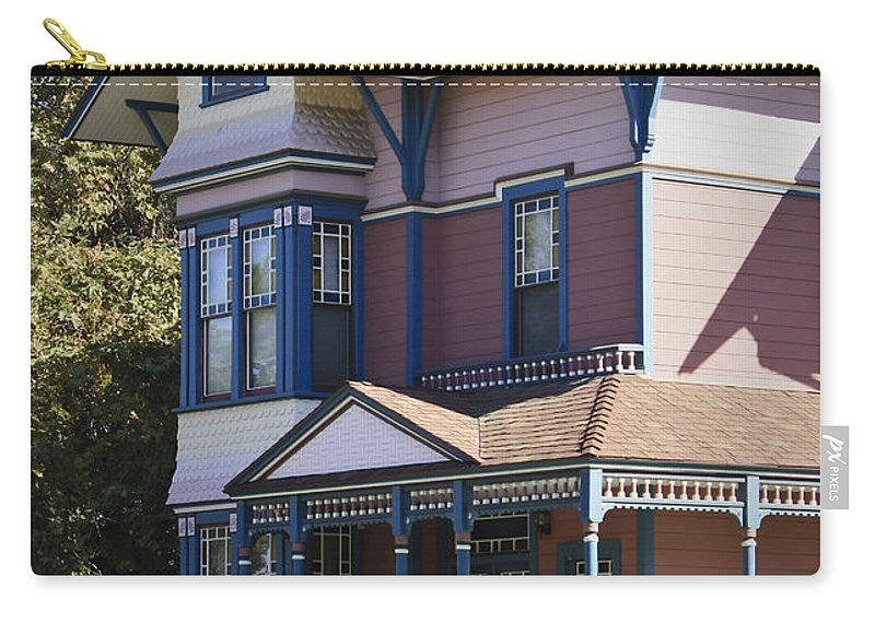 California Carry-all Pouch featuring the photograph Southern California Painted Lady by Teresa Mucha