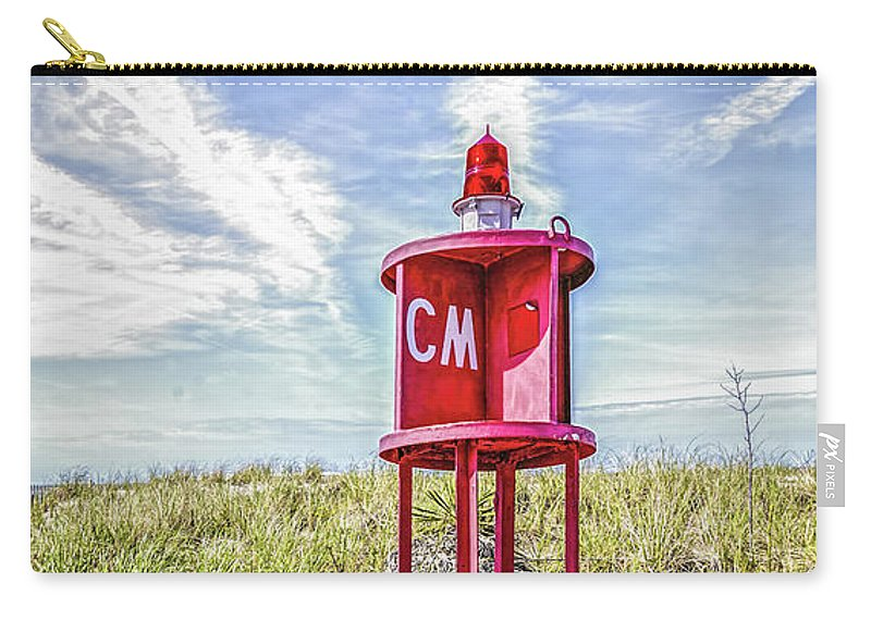 Cape May Carry-all Pouch featuring the photograph Southernmost Point Buoy- Cape May Nj by Cindi Alvarado