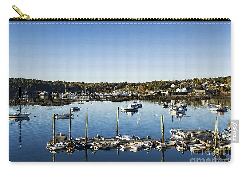Maine Carry-all Pouch featuring the photograph Southwest Harbor Maine by John Greim