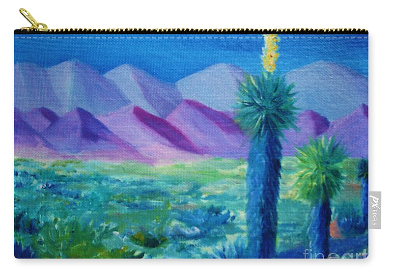 Southwest Carry-all Pouch featuring the painting Southwest by Melinda Etzold
