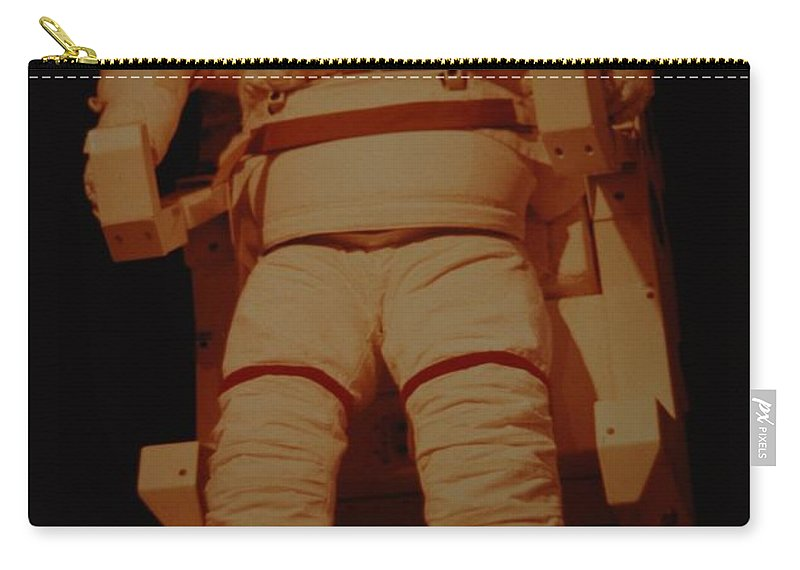 Nasa Carry-all Pouch featuring the photograph Space Suit by Rob Hans