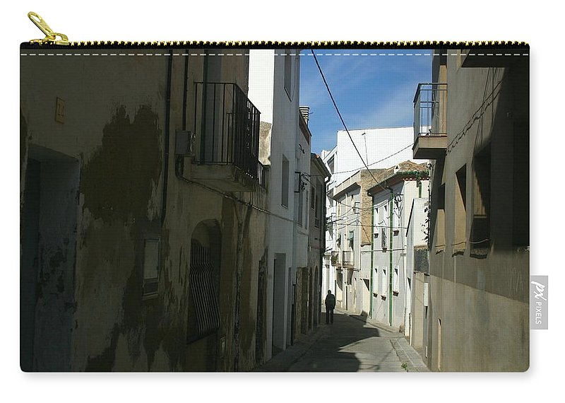 Spain Carry-all Pouch featuring the photograph Spain One Way by Minaz Jantz