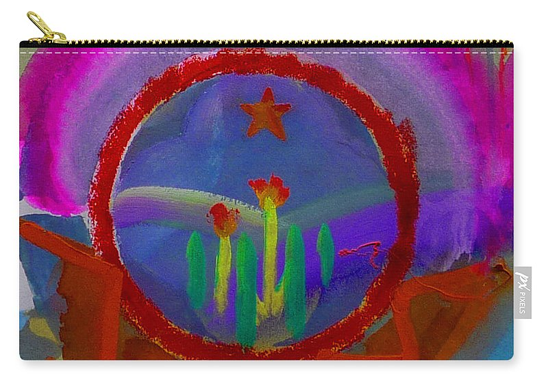 Love Carry-all Pouch featuring the painting Spanish America by Charles Stuart