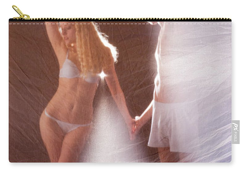 Dance Carry-all Pouch featuring the photograph Sparkling Dance by Scott Sawyer
