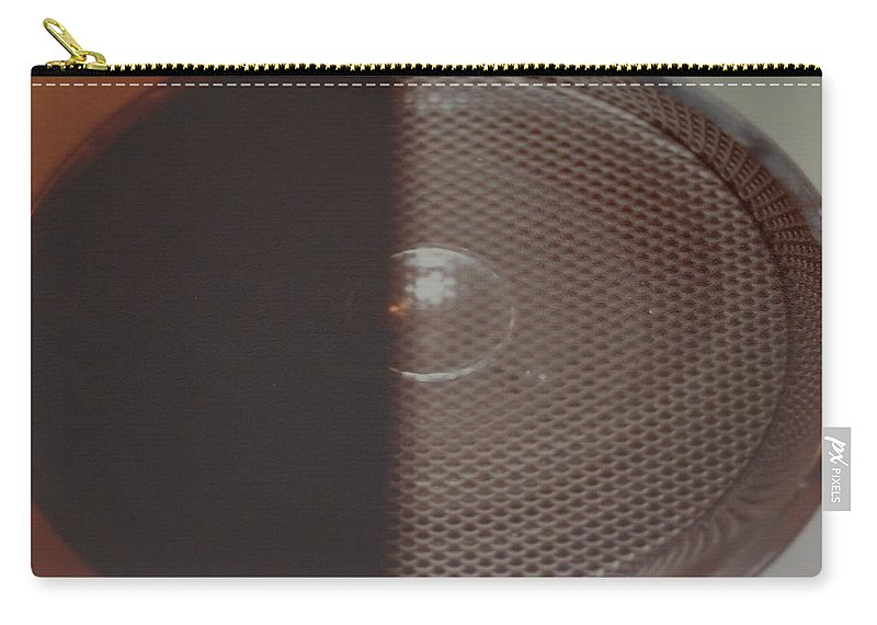 Abstract Carry-all Pouch featuring the photograph Speaker by Rob Hans