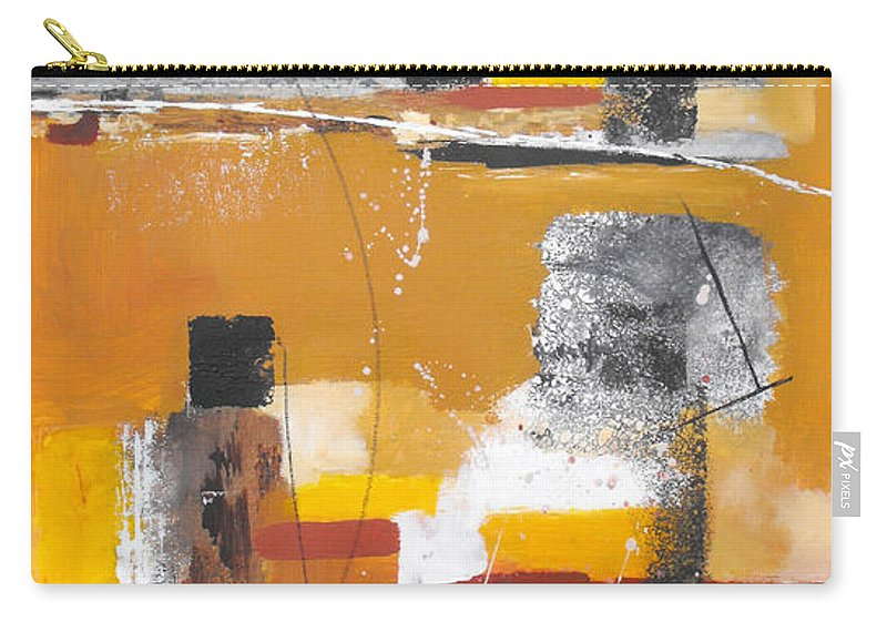 Abstract Carry-all Pouch featuring the painting Special Circumstances II by Ruth Palmer