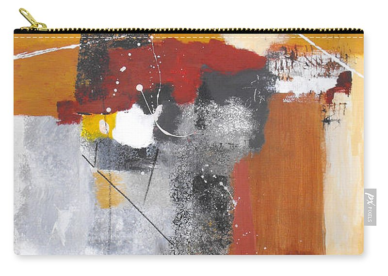 Abstract Carry-all Pouch featuring the painting Special Circumstances by Ruth Palmer