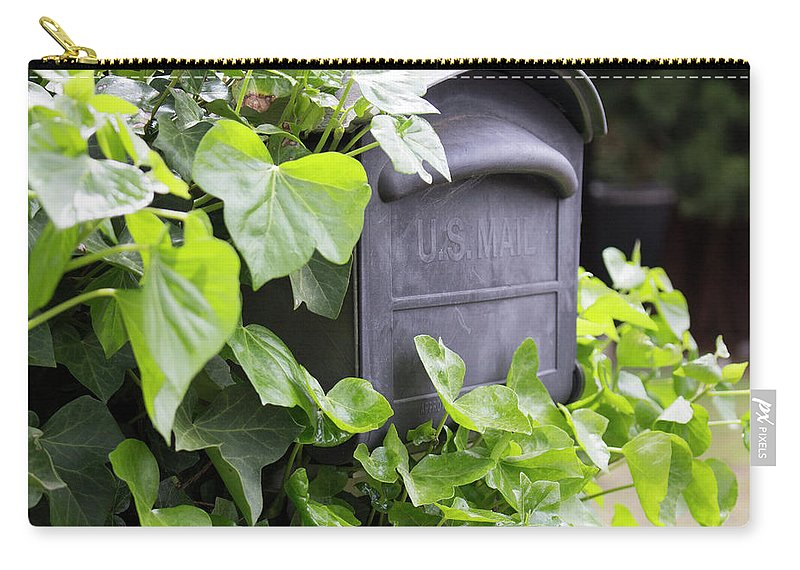 Mailbox Carry-all Pouch featuring the photograph Special Delivery by Images By Paige