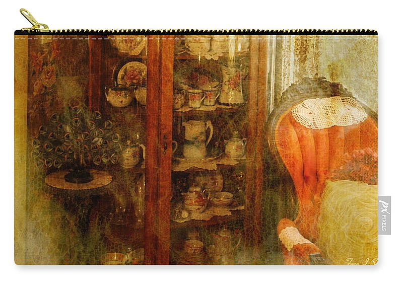 Victorian Carry-all Pouch featuring the photograph Specters by Fran J Scott