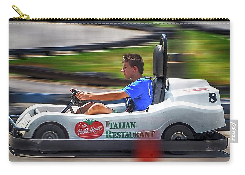 Speed Carry-all Pouch featuring the photograph Speed by C H Apperson