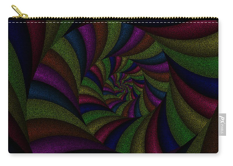 Art Carry-all Pouch featuring the digital art Spellbinding by Candice Danielle Hughes