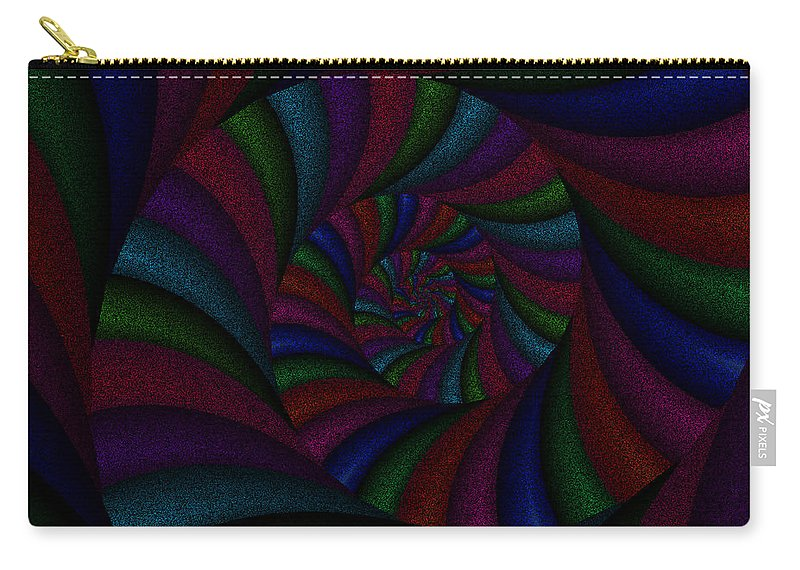 Art Carry-all Pouch featuring the digital art Spellbinding Iv by Candice Danielle Hughes
