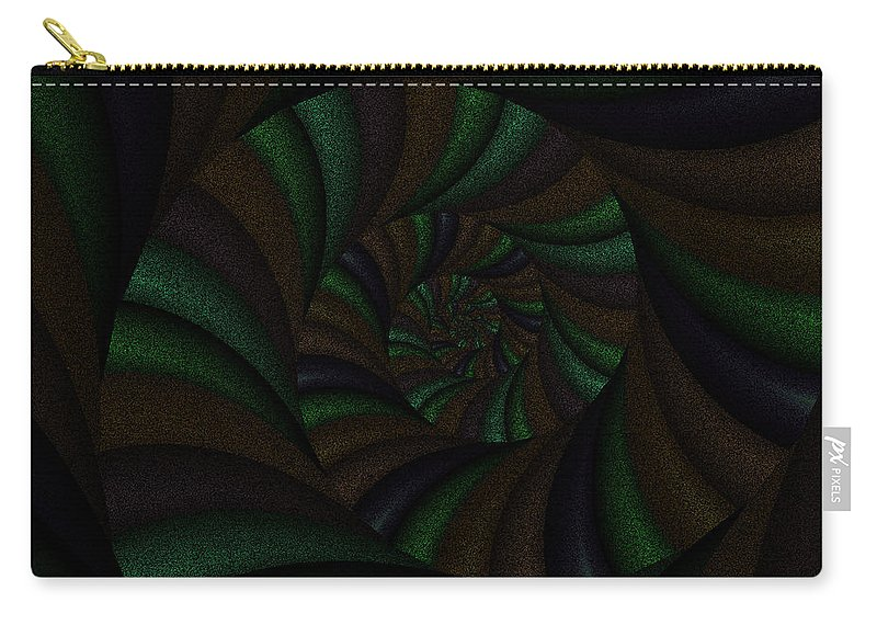 Art Carry-all Pouch featuring the digital art Spellbinding V by Candice Danielle Hughes