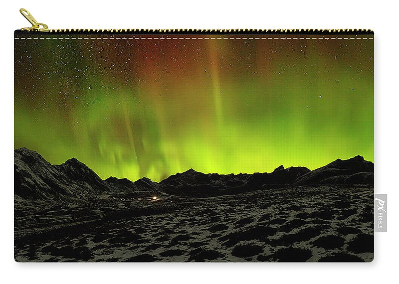 Alaska Carry-all Pouch featuring the photograph Spellbound by Ed Boudreau