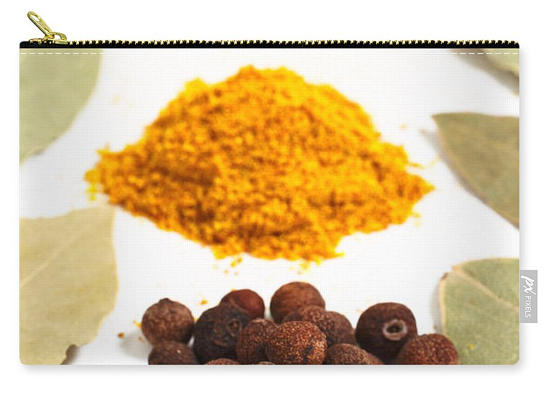 Curry Carry-all Pouch featuring the photograph Spices by Gaspar Avila