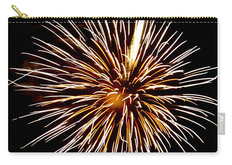 July 4th Carry-all Pouch featuring the photograph Spider Ball by Phill Doherty