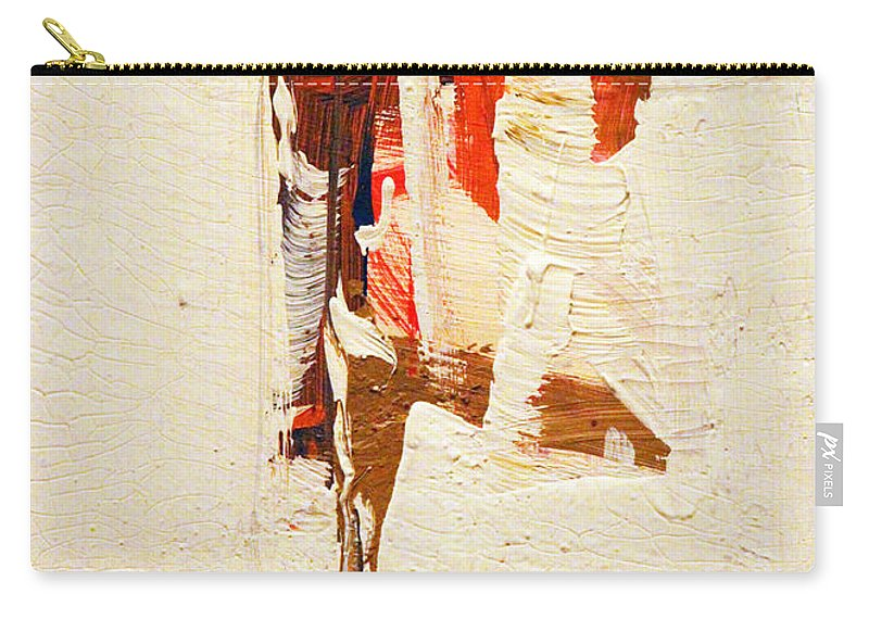 Abstract Carry-all Pouch featuring the painting Spill by Munir Alawi