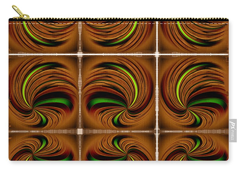 Abstract Carry-all Pouch featuring the photograph Spinners by John M Bailey