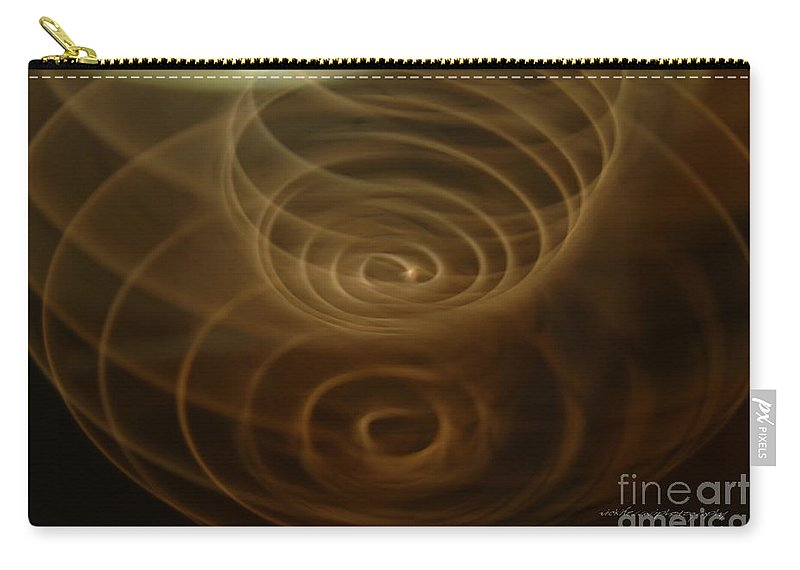 Magical Carry-all Pouch featuring the photograph Spirals Of Light by Vicki Ferrari