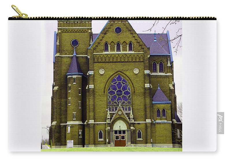 Spire Carry-all Pouch featuring the photograph Spire by Albert Stewart