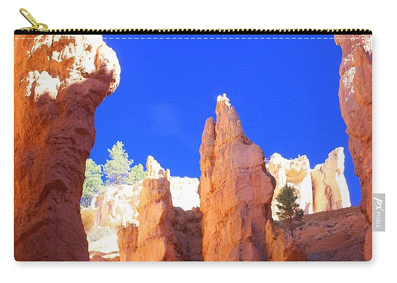 Bryce Canyon National Park Carry-all Pouch featuring the photograph Spires by Marty Koch