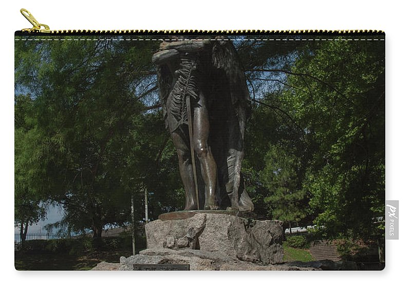 Houston Carry-all Pouch featuring the photograph Spirit Of The Confederacy by Joshua House