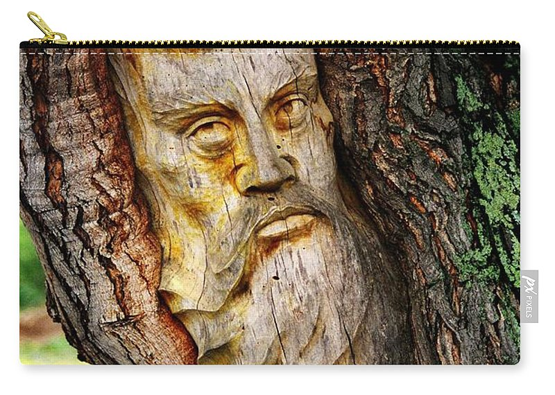 North America Carry-all Pouch featuring the photograph Spirit Of The Forest ... by Juergen Weiss