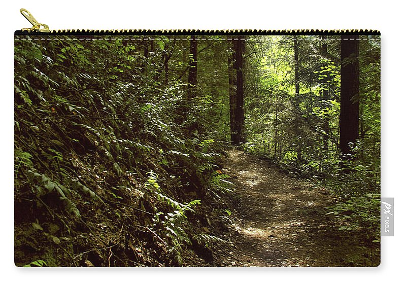Landscape Carry-all Pouch featuring the photograph Spirit of the Wood by Karen W Meyer