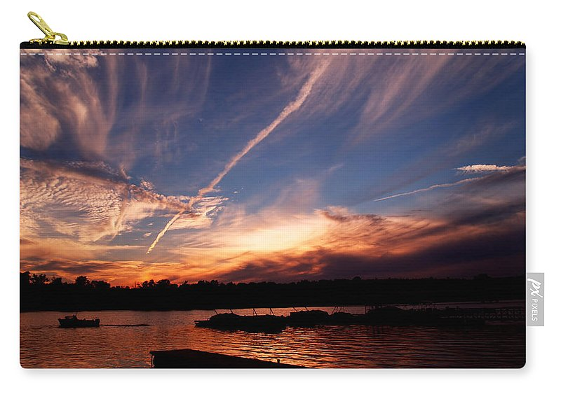 Sky Carry-all Pouch featuring the photograph Spirits In The Sky by Gaby Swanson