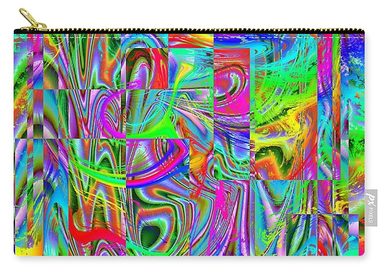 Abstract Carry-all Pouch featuring the photograph Splash 2 by Tim Allen