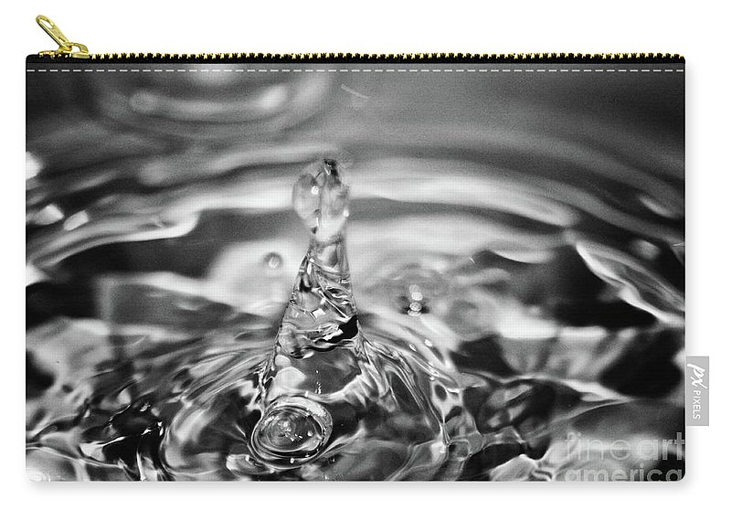 Water Carry-all Pouch featuring the photograph Splash by Ilaria Andreucci