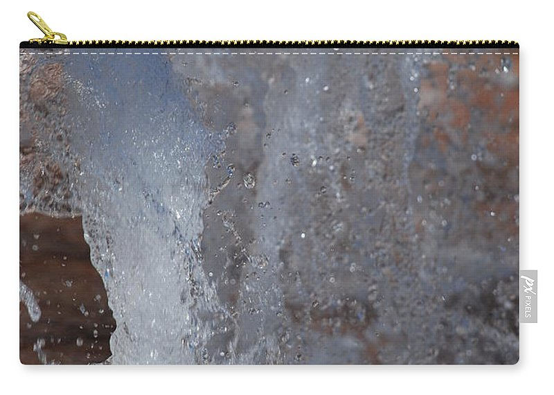 Water Carry-all Pouch featuring the photograph Splash by Rob Hans