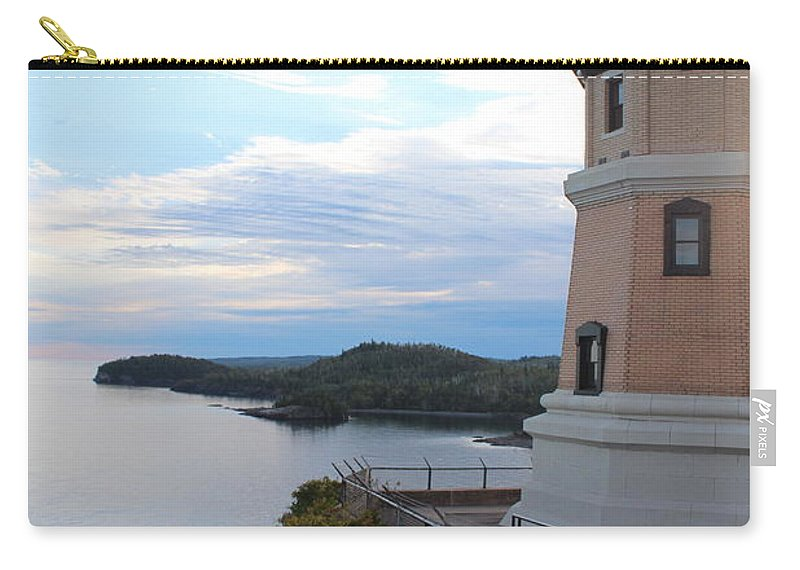 North Carry-all Pouch featuring the photograph Split Rock Lighthouse Four by Nicholas Miller