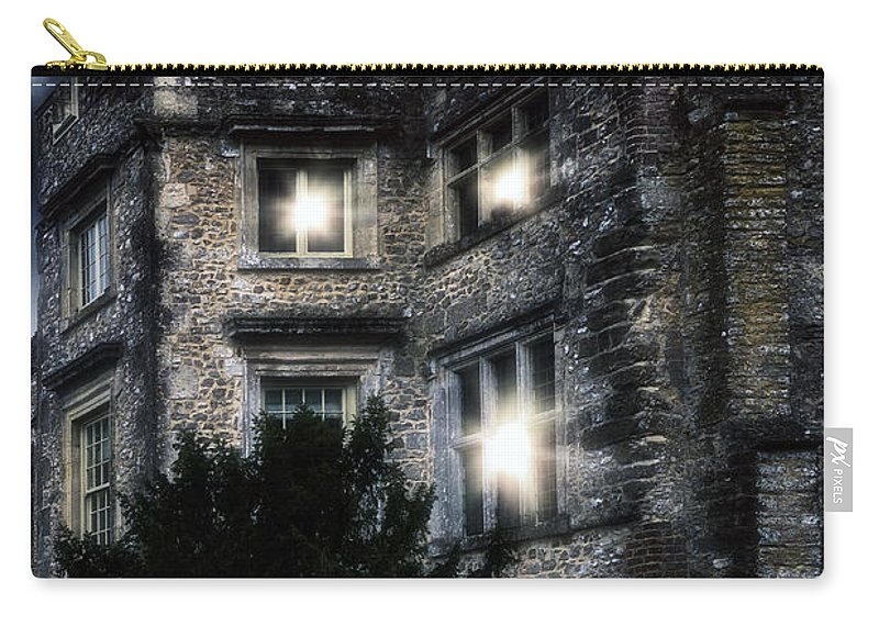 Castle Carry-all Pouch featuring the photograph Spooky Castle by Joana Kruse