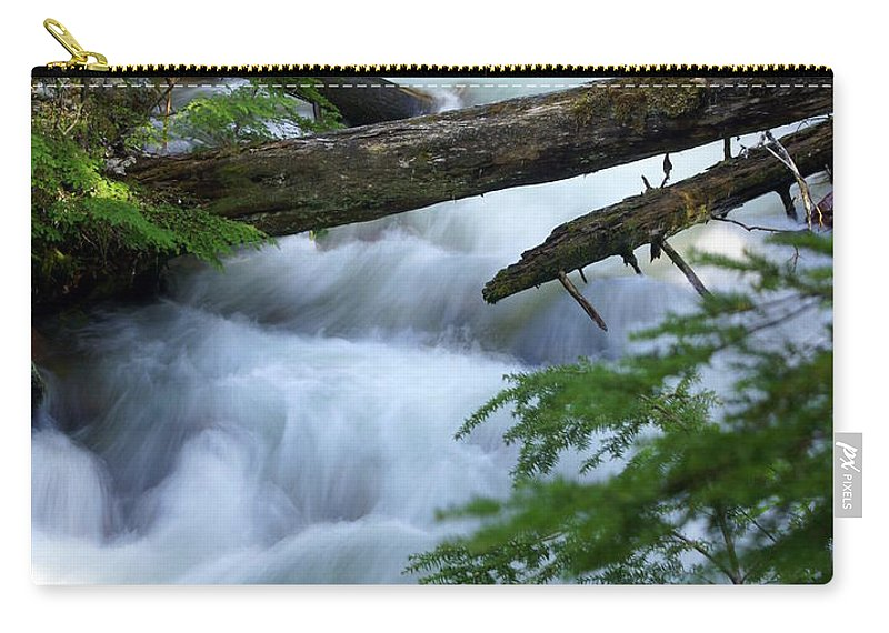 Glacier National Park Carry-all Pouch featuring the photograph Sprague Creek Glacier National Park by Marty Koch