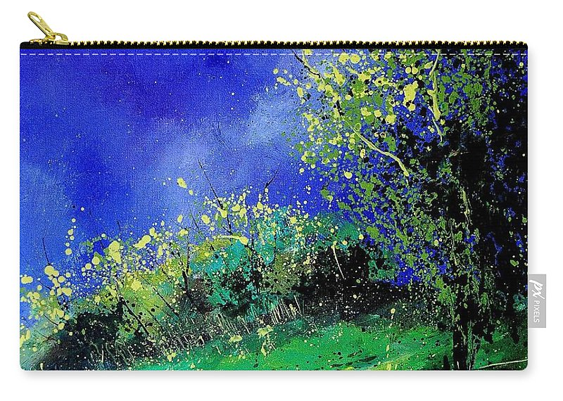 Spring Carry-all Pouch featuring the painting Spring 459060 by Pol Ledent
