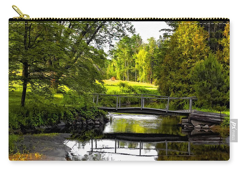 Landscape Carry-all Pouch featuring the photograph Spring Becomes The Summer by Steve Harrington